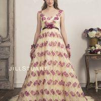 """プリント柄も今旬のドレスライン """"私らしい""""を表現できるドレス 人気ブランド JILL STUARTのドレス"""