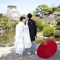 大阪城公園内は和装にも洋装にもピッタリなロケーションです♪