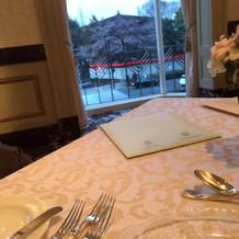 レストラン(会場)からの景色