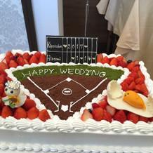 ウェディングケーキ。好きなもの盛り盛り