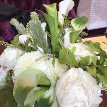 提携の花屋さんのセンスが抜群でした。