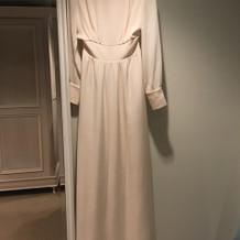 お色直しの白ドレス