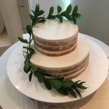 ずっと眺めていたかったケーキ