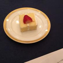 プラス300円で追加した生ケーキ
