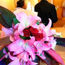 それぞれのお花も美しく仕上げて頂きました