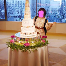 フェイクのケーキだけど、本物にも出来る
