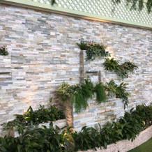 ガーデン壁