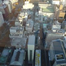 スカイチャペルから見た名古屋の街