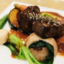 お肉と野菜のソテー