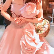 カラードレス(ピンク)