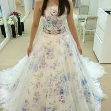すっごく可愛いドレスです!