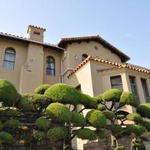 邸宅はとても素敵でした