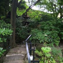 庭園が素敵