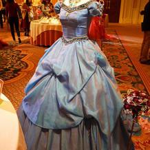 オリエンタルなドレス