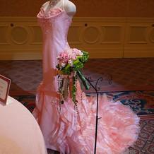 アリエルを意識したドレスです