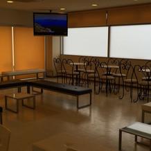 招待客の待合室