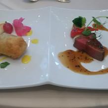 温かい料理で、味も美味しかった