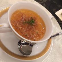 あつあつのスープ