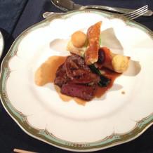 メインのお肉もとても美味しかったです