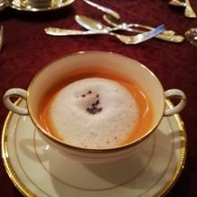 アナ雪コースのスープ