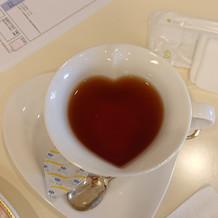 ブライダルサロンでの紅茶