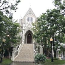 外からの大聖堂