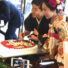 達磨ケーキ