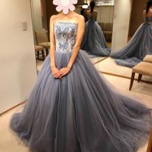 お色直しで着たカラードレス