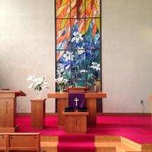 礼拝堂内部