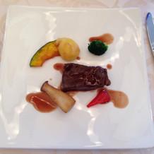 肉料理、めちゃ美味しい!