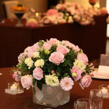 テーブル装飾1