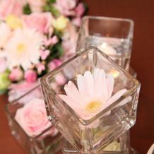 テーブル装花3