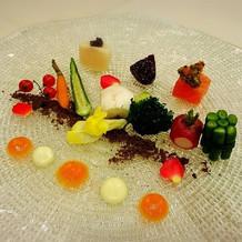 野菜のガルグイユ