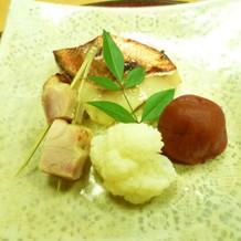 鶏肉ロース焼と梅蜜煮が美味しかったです