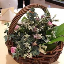 ゲスト卓のお花も色々変えれます