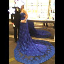 お色直しのドレス
