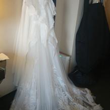 新作のドレスが素敵でした