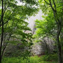 石の教会近く