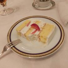 しあわせのウェディングケーキのおすそ分け
