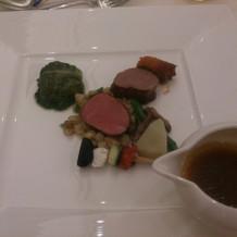 お肉も柔らかくとても美味しかったです。