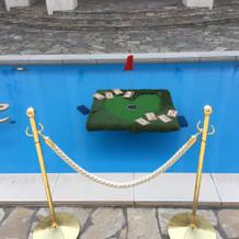 プール装飾