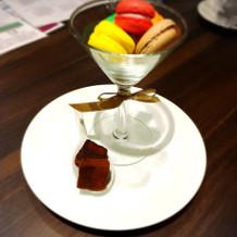 試食(デザート)