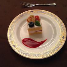 ケーキもオプション付けなくても満足!