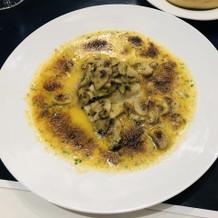 お魚料理(グラタン風)