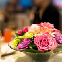 お花もイメージ通りに作っていただけます。
