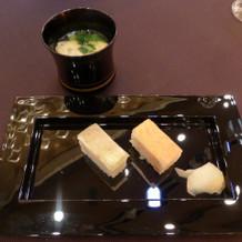 御祝御膳 祝押寿司 味噌椀