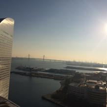 朝の景色。