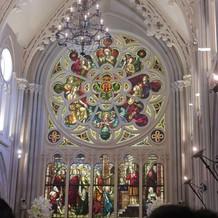 セントグレース大聖堂。圧巻でした。