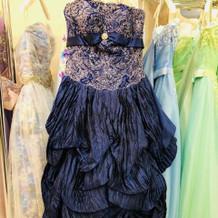 プラン内のカラードレス