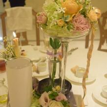 ゲストテーブル装飾